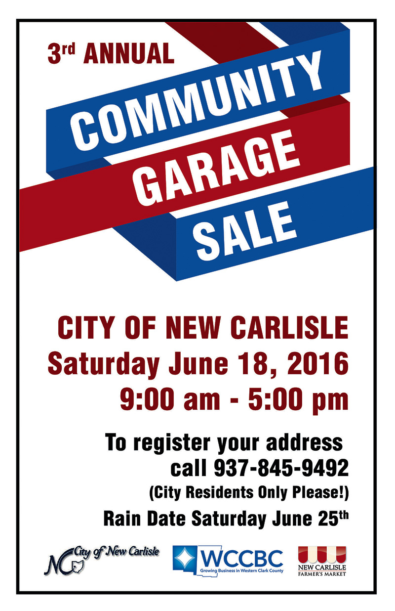 Community Garage Sale 2016