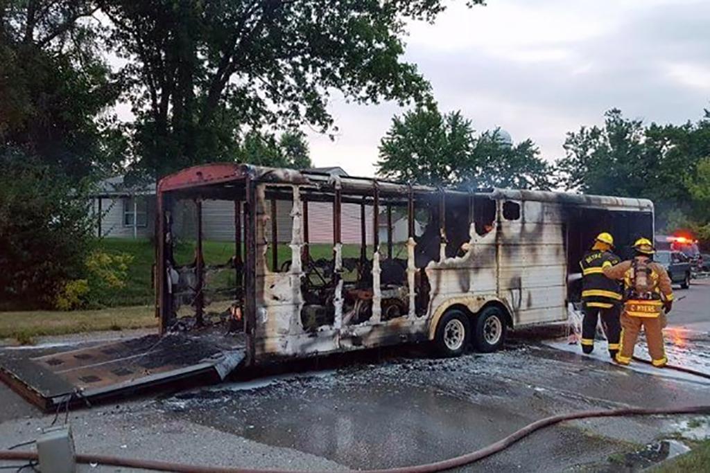 Fire Destroys Local Girl S Jr Dragster Race Car