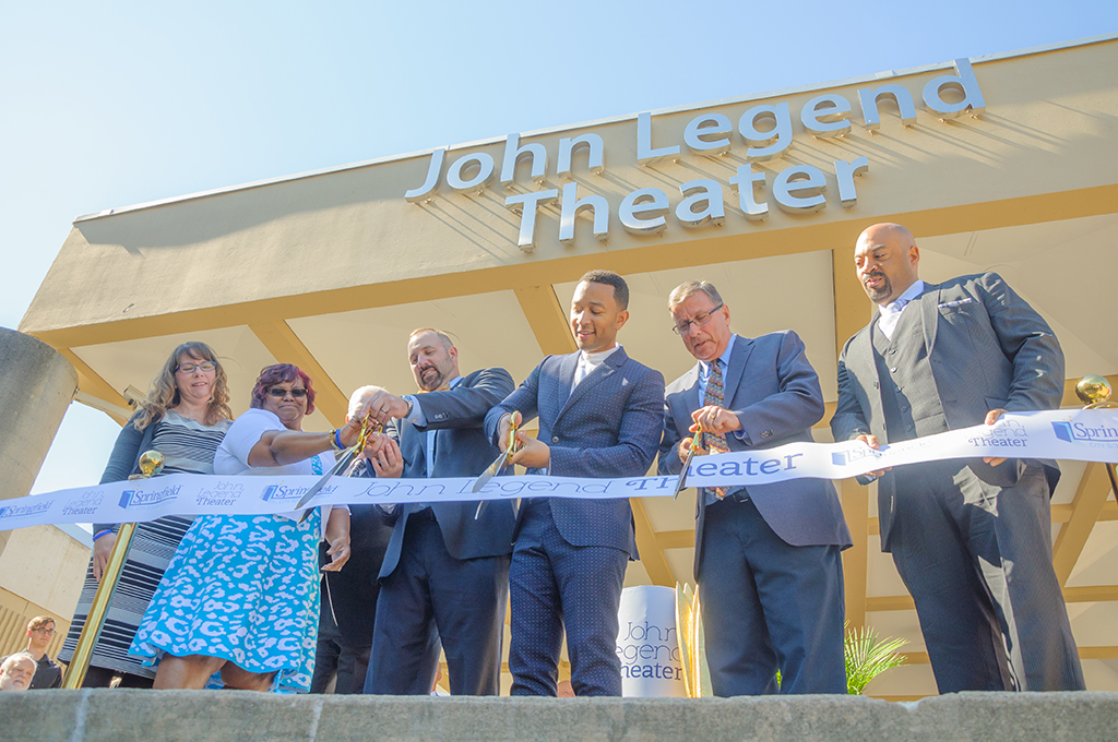 Singer John Legend opens Ohio Theater named in his honor