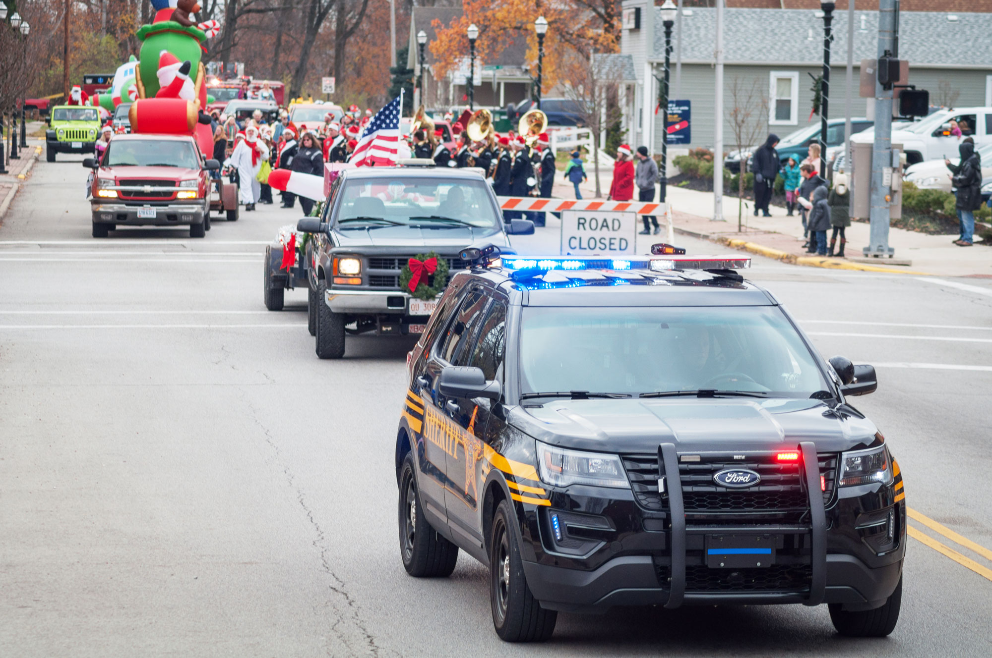 Christmas Festivities with Holiday Parade