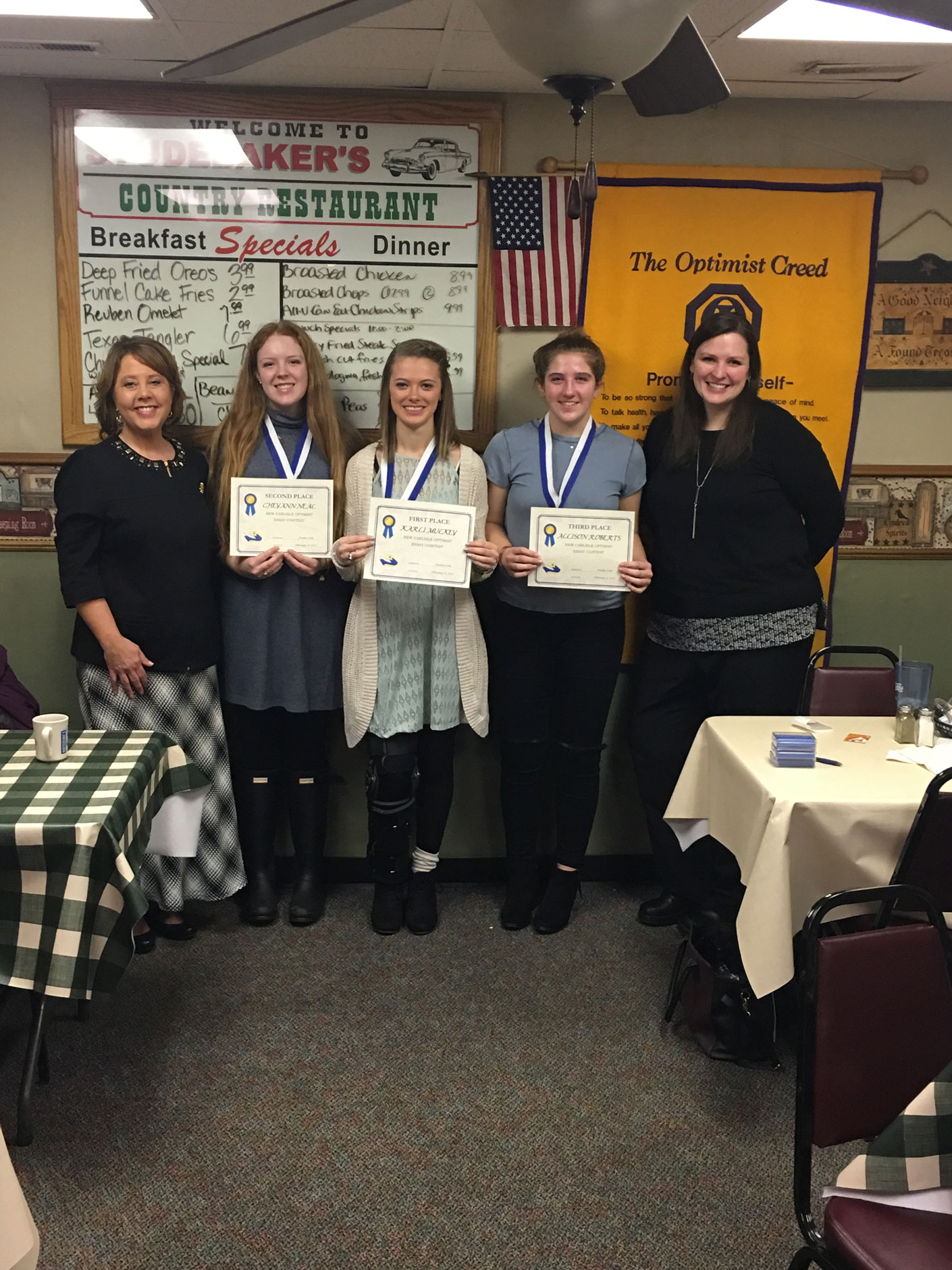 Optimist essay contest